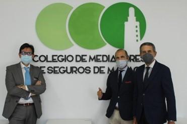 Aegon renueva su apoyo al Colegio de Málaga. Noticias de seguros.