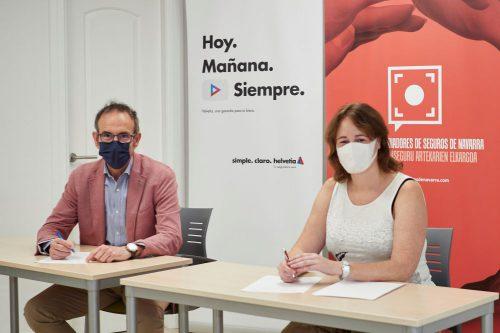 Helvetia refuerza sus lazos con el Colegio de Navarra.