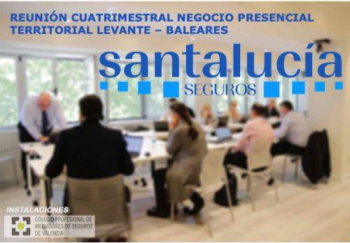 Santalucía reúne a su red comercial en el Colegio de Valencia. Noticiasd e seguros.