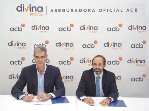 Divina Seguros renueva su acuerdo con la acb por tres temporadas más.
