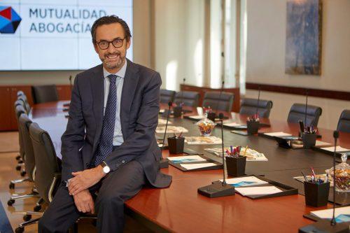 Enrique Sanz Fernández-Lomana, presidente de Mutualidad de la Abogacía.