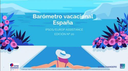 Europ Assistance publica su 20º Barómetro anual sobre las vacaciones de verano de europeos y españoles.