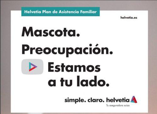 Helvetia incluye una nueva garantía para las mascotas. Noticias de seguros.