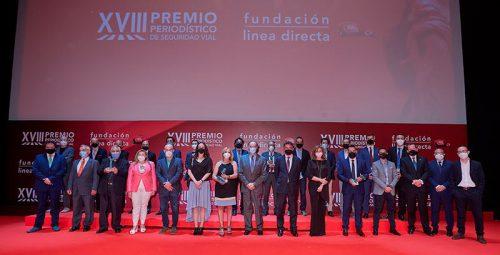 Estos son los ganadores del XVIII Premio Periodístico de Fundación Línea Directa.