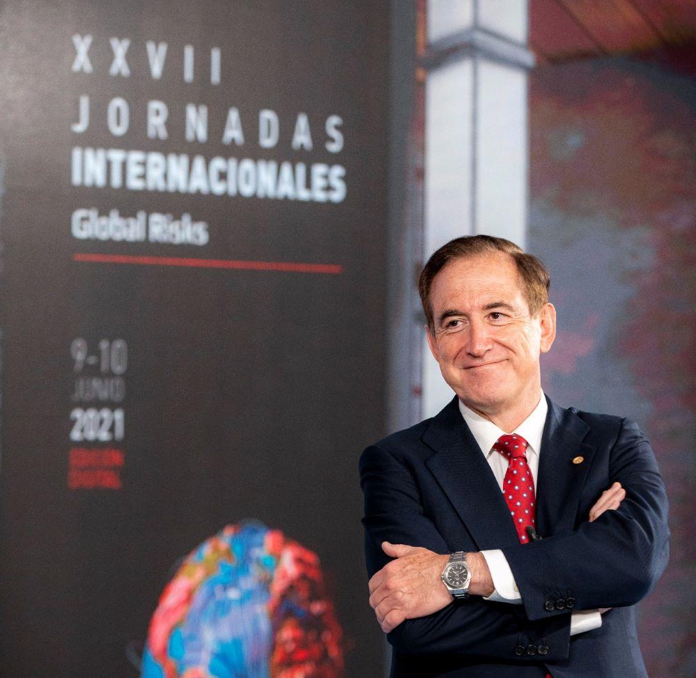 Antonio Huertas en las jornadas de Mapfre Global Risks. Noticias de seguros.