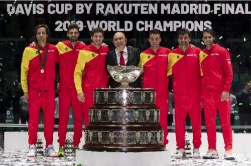 Mapfre renueva su patrocinio con la Real Federación Española de Tenis.