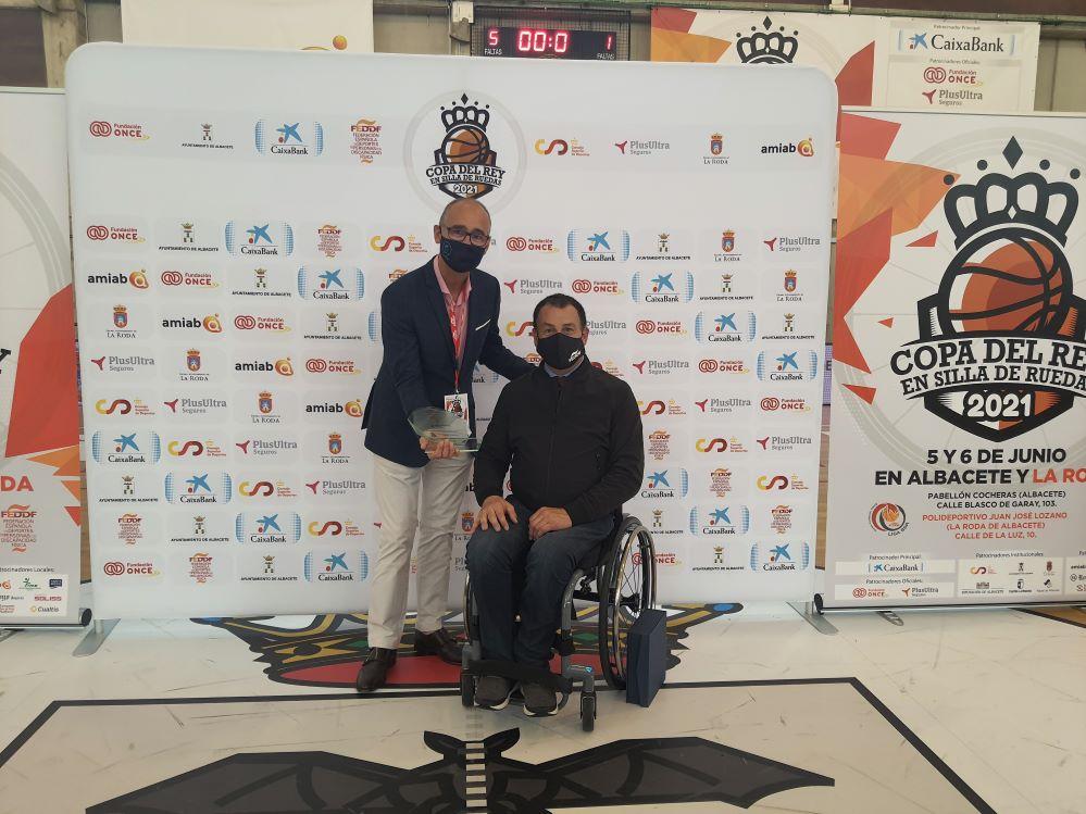 Plus Ultra patrocina la Copa del Rey de baloncesto en silla de ruedas.