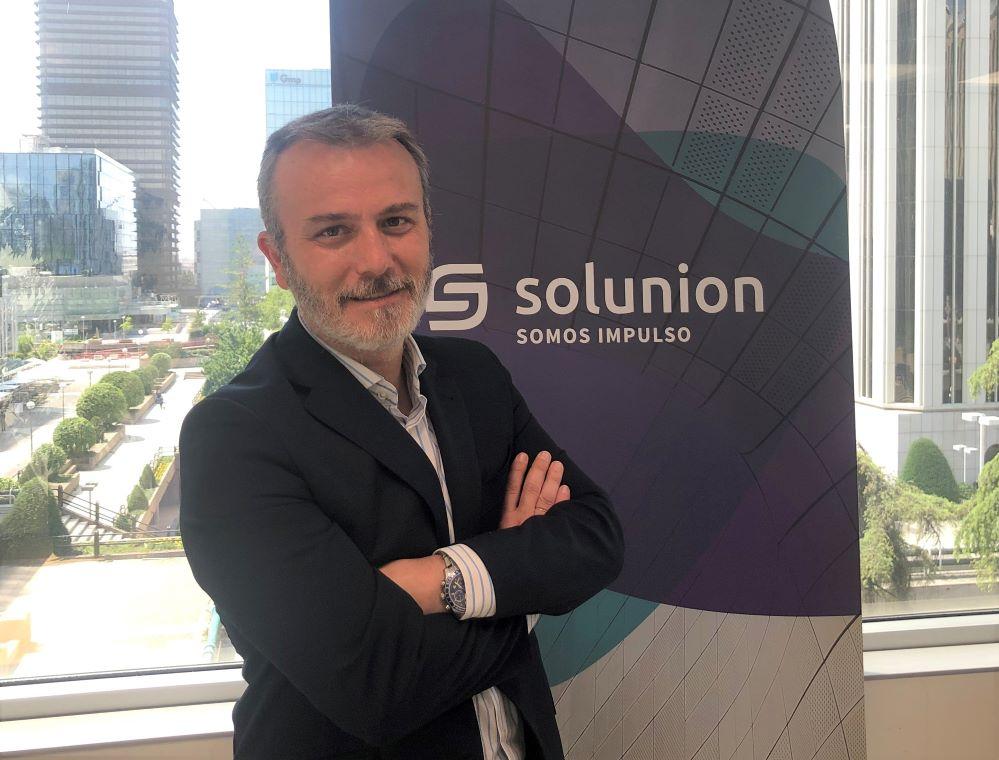 Manuel Rey, director corporativo de Organización y Procesos de Solunion.