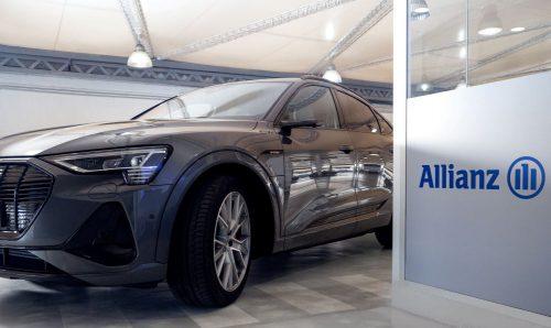 Allianz lanza su nuevo plan de fidelización y lo celebra ofreciendo a sus clientes coches de lujo como vehículo de sustitución.