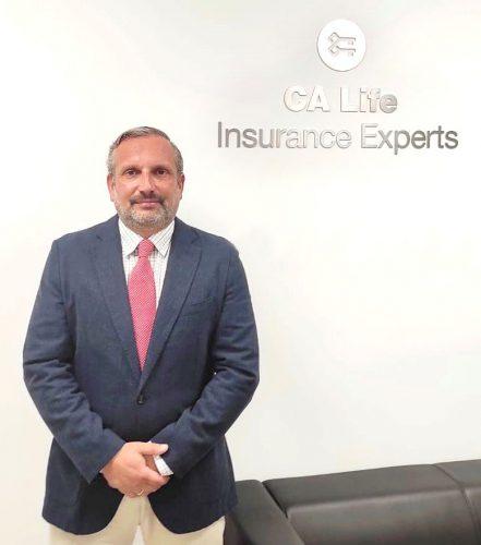Javier Gómez Fernández, nuevo director comercial de CA Life.