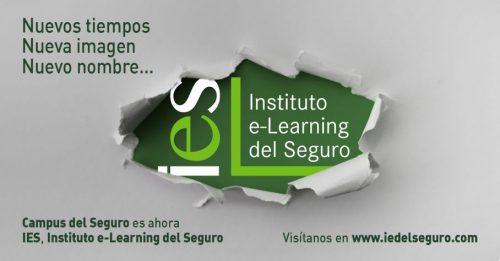 Instituto e-Learning del Seguro arranca una nueva etapa y lo hace con nueva imagen, con nueva marca y con nueva denominación.