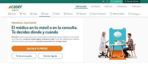 Caser lanza Doctorfy, que ofrece cobertura médica digital ilimitada.