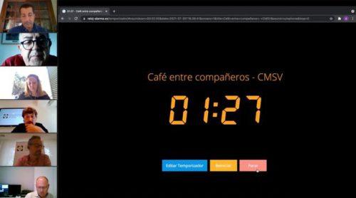 """El primer """"café entre compañeros"""" del Colegio de Valencia centra su debate en la bancaseguros."""