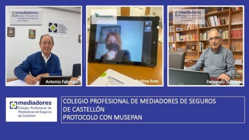 Musepan y el Colegio de Castellón seguirán colaborando un año más.