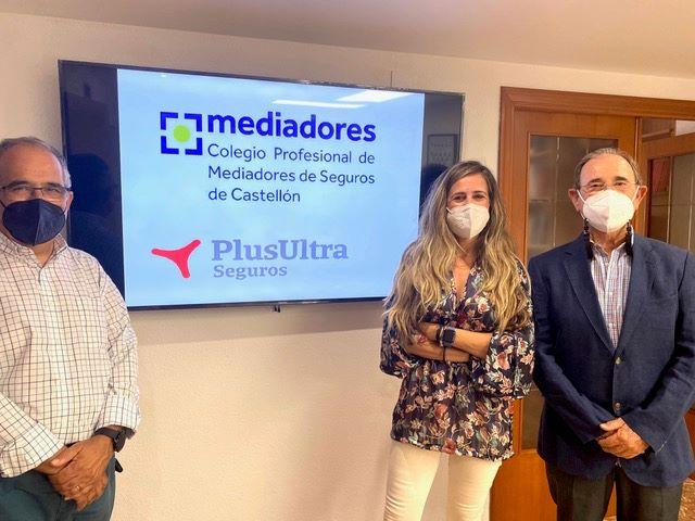 Plus Ultra Seguros: más de una década de confianza con el Colegio de Castellón.