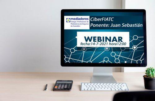 Los ciberriesgos protagonizarán el próximo webinar de FIATC para los colegiados de Castellón.