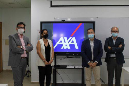 AXA y el Colegio de Mediadores de Seguros de Málaga renuevan su convenio de colaboración.