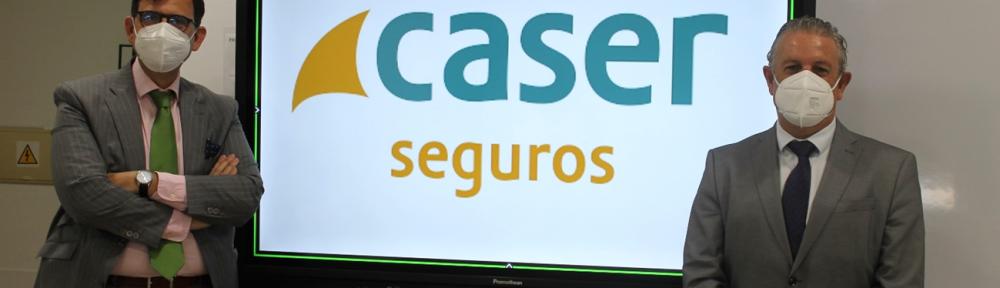 Caser renueva su acuerdo de colaboración con el Colegio de Mediadores de Seguros de Málaga.