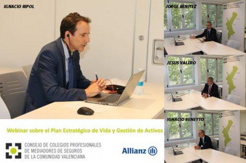 Allianz presenta a los colegiados valencianos su Plan Estratégico de Vida y Gestión de Activos.