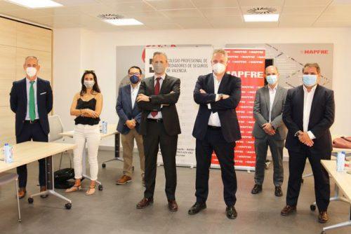El Colegio de Valencia y Mapfre abordan en su segunda reunión de trabajo la comercialización de los productos de Ahorro e Inversión.