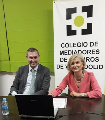 El Colegio de Mediadores de Valladolid recibe la visita de Ignacio Mariscal, CEO de Reale Seguros.