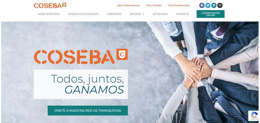 COSEBA renueva su web en el marco de su nueva estrategia de comunicación.