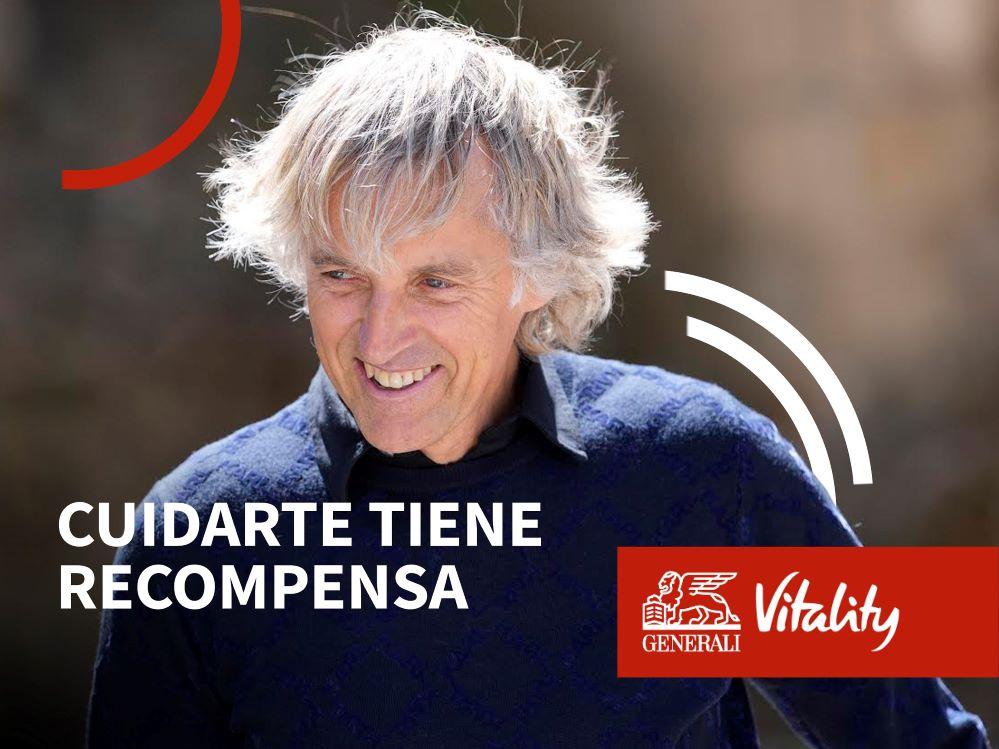 Jesús Calleja presenta GENERALI Vitality.