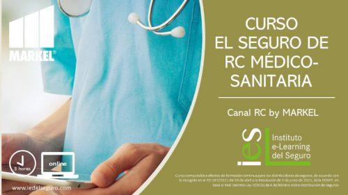 """El Instituto e-Learning del Seguro lanza un curso online sobre """"El Seguro de RC Médico-Sanitaria"""" en colaboración con MARKEL ESPAÑA."""