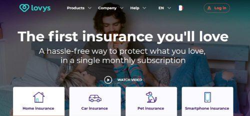 Lovys desembarca en España con sus seguros digitales.