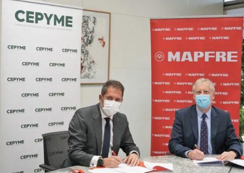 Mapfre y Cepyme renuevan su acuerdo de colaboración.