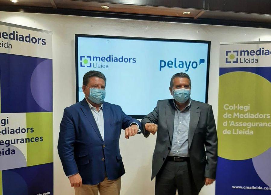 Pelayo y el Colegio de Mediadores de Seguros de Lleida firman un Convenio de Colaboración.