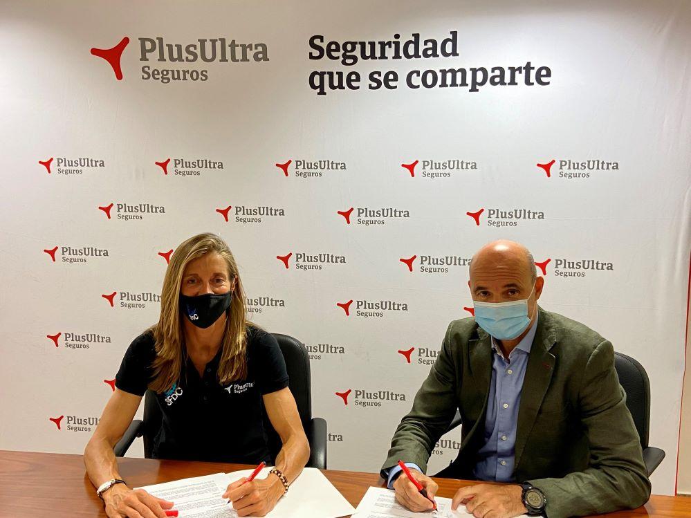 Plus Ultra Seguros, patrocinador del club de atletismo valenciano Team 3FdC.