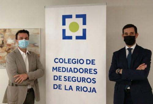 Plus Ultra Seguros y el Colegio de Mediadores de Seguros de La Rioja se unen para apoyar a la mediación.