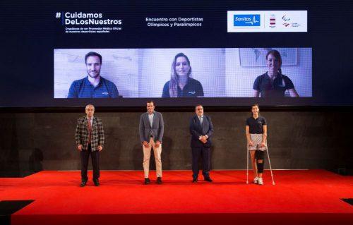 Sanitas, Proveedor Médico Oficial del COE y CPE, homenajea a los deportistas españoles antes de su marcha a los Juegos.