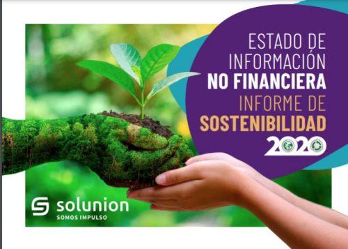 Solunion presenta su Informe de Sostenibilidad 2020.