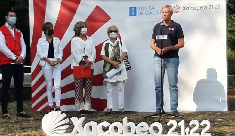 Mapfre colabora con XACOBEO 21-22 para asistir a los peregrinos.
