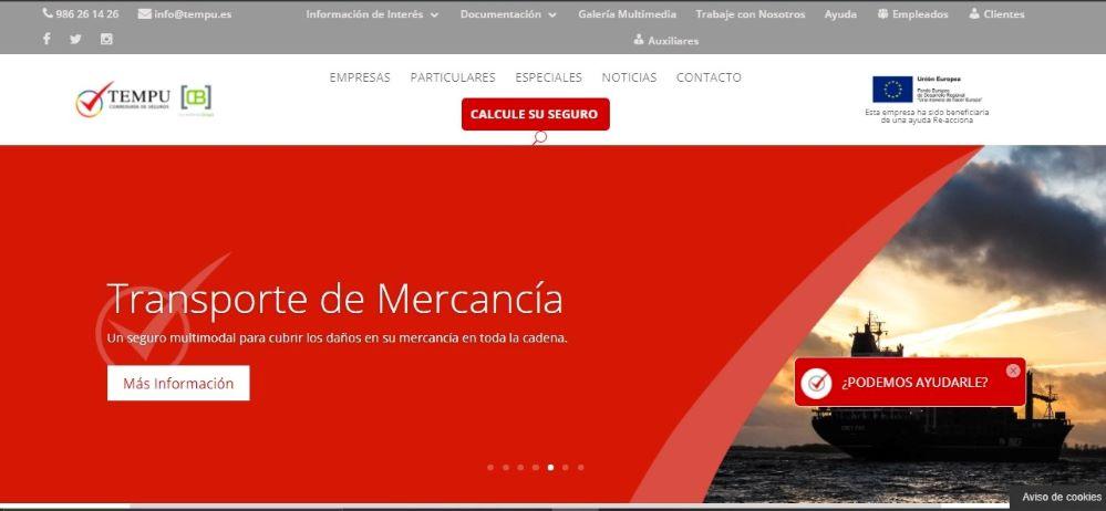Tempu Correduría de seguros patrocina el Xacobeo 2021-22,