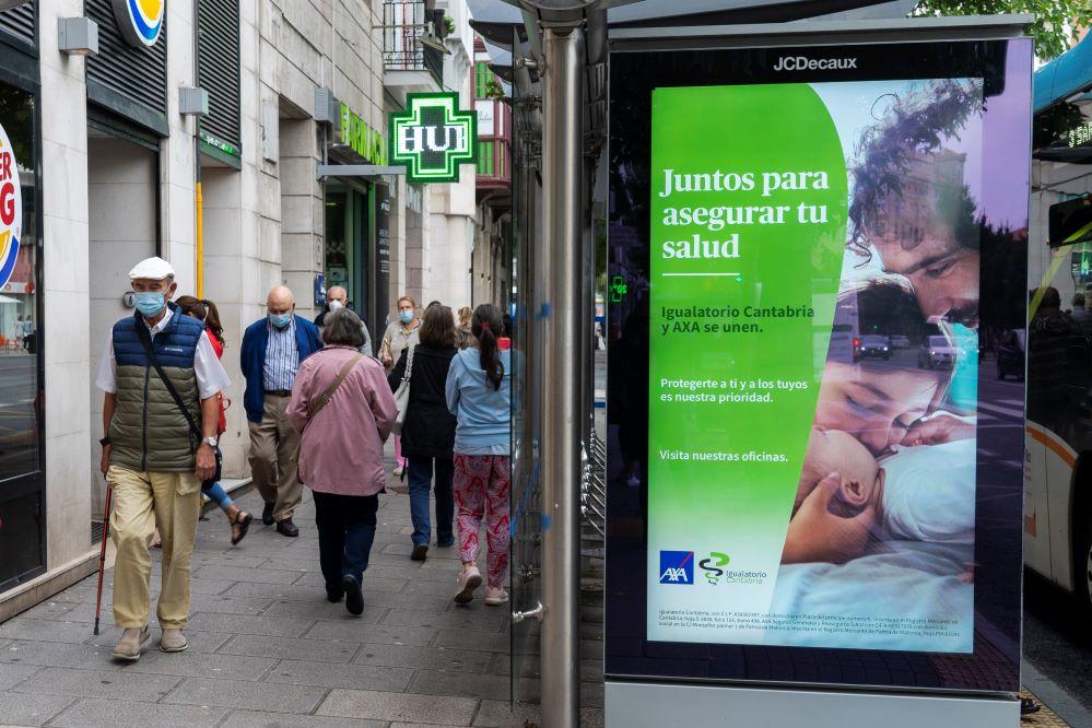 Igualatorio Cantabria y AXA estrenan nueva imagen con la campaña 'Juntos para asegurar tu salud'.