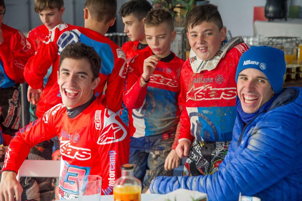 Vuelve el Allianz Junior Motor Camp con los hermanos Márquez.