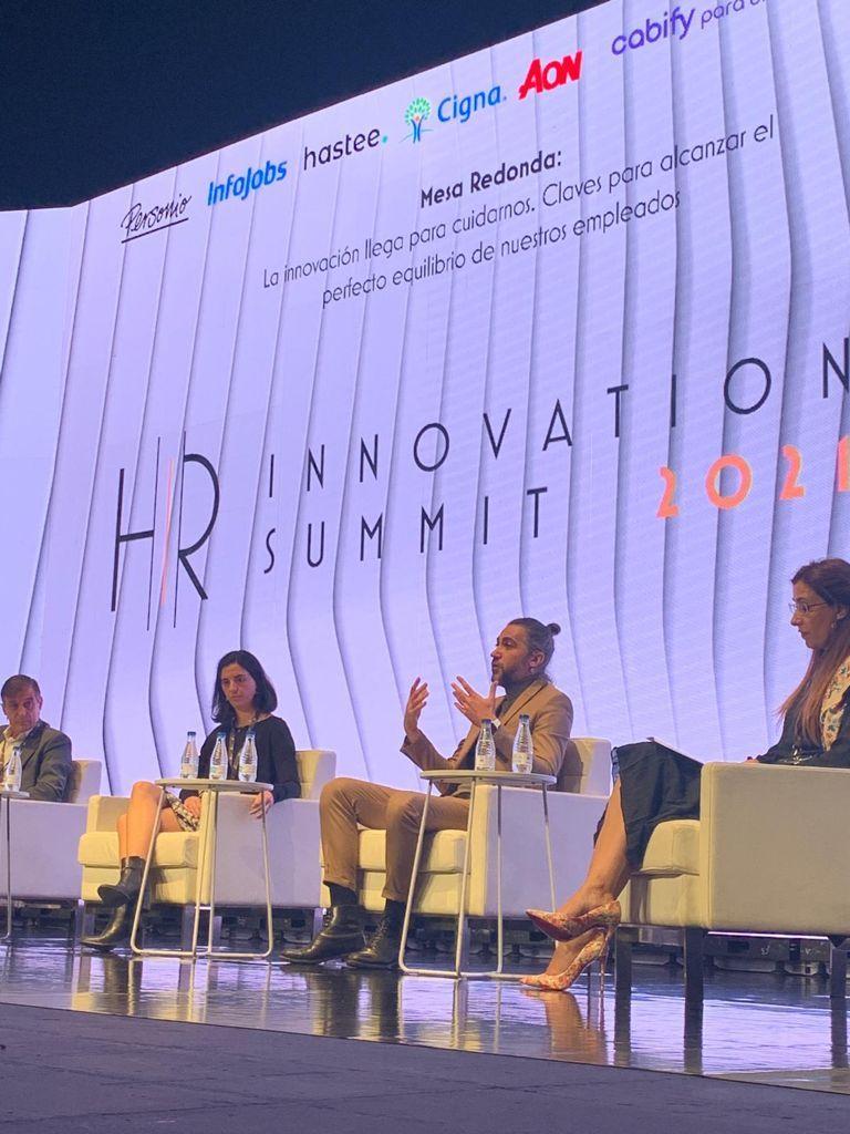 Aon presente en el HR Innovation Summit 2021.
