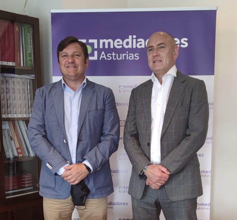 Sanitas reafirma su apoyo y colaboración al Colegio de Mediadores de Seguros de Asturias.