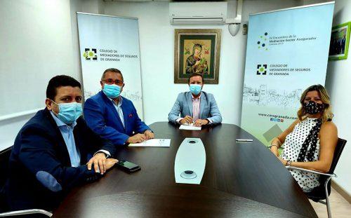 El Colegio de Mediadores de Seguros de Granada y DKV se comprometen a través de un acuerdo de colaboración.