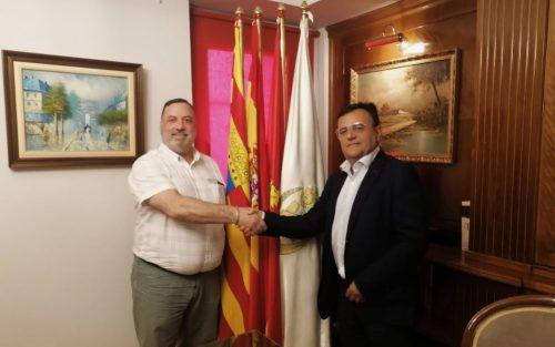 Los Colegios de Teruel y Zaragoza mejoran su convenio de colaboración.
