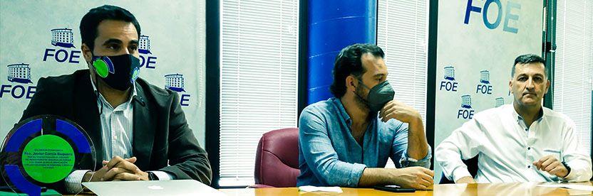 Colmedse se reencuentra físicamente con sus colegiados de Huelva gracias a un Encuentro en la FOE.