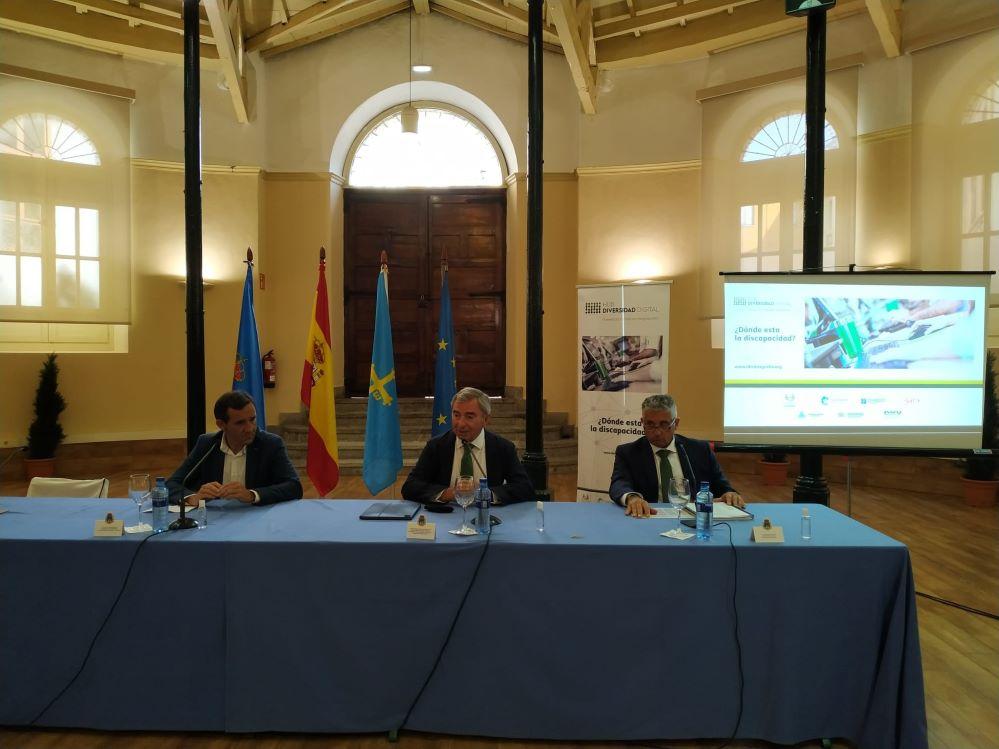 Nace en Oviedo el Hub de Diversidad Digital de la mano de la Fundación Integralia DKV, el Ayuntamiento de Oviedo y COCEMFE Asturias.
