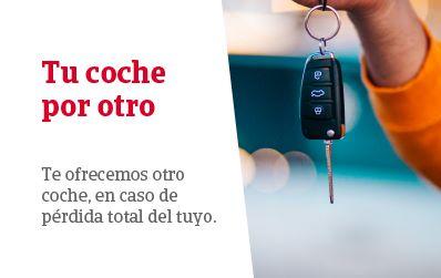 El Grupo Catalana Occidente ofrece un coche de ocasión en caso de siniestro total.