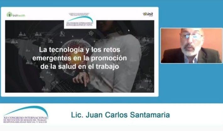 Grupo Init participa en el XII Congreso de Prevención de Riesgos en el Trabajo, Responsabilidad Social y Salud de Buenos Aires.