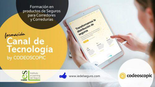 Codeoscopic lanza un canal de formación en tecnología dentro del Instituto e-Learning del Seguro.