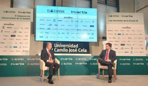 José Manuel Inchausti, CEO de Mapfre en Iberia, participó en el II Observatorio de Sanidad de El Español e Invertia.