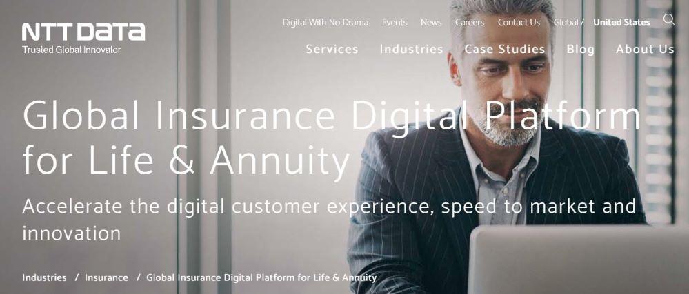 NTT DATA presenta GIDP™: la plataforma digital para el segmento de seguros de vida y pensiones.